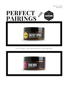 Perfect Pairing II - Satay Thai Spice Mix